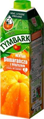Tymbark Nektar  pomarańcza z miąższem