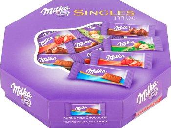 Milka Singles Mix   mieszanka czekoladek mlecznych