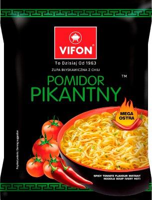 Vifon Zupa błyskawiczna pomidor pikantny mega ostra