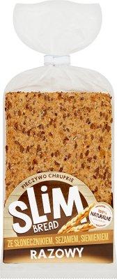 Melvit Slim bread razowy ze słonecznikiem, sezamem, siemieniem