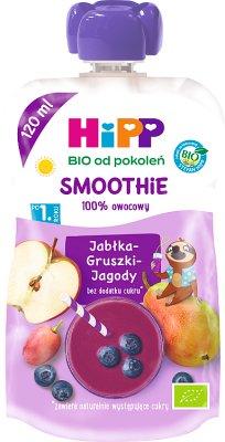 Smoothie Jabłka-Gruszki-Jagody BIO
