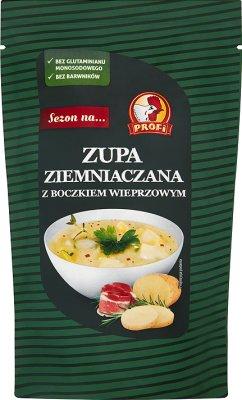Профи Картофельный суп со свиным салом