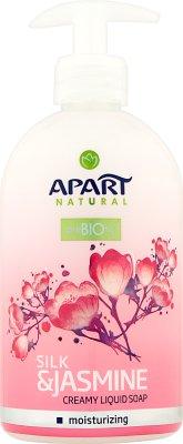 Apart Natural Prebiotic Kremowe mydło w płynie Jedwab&Jaśmin