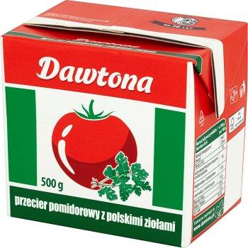 puré de tomate con hierbas Dawtona polaco