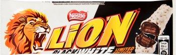 Lion Baton Black White