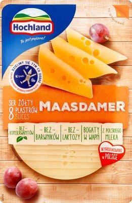 Hochland Ser żółty Maasdamer Bez laktozy w plastrach