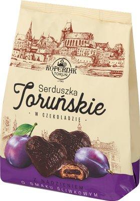 Kopernik Pierniczki nadziewane o smaku śliwkowym w czekoladzie