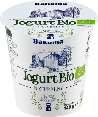 Bakoma Yogurt Bio natural