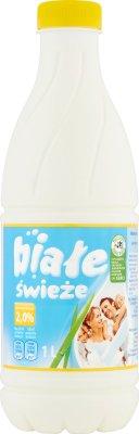 Mlekpol Mleko Białe świeże 2,0%