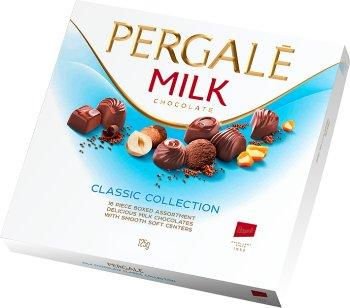 Pergale Classic Zestaw pralin z czekoladą mleczną