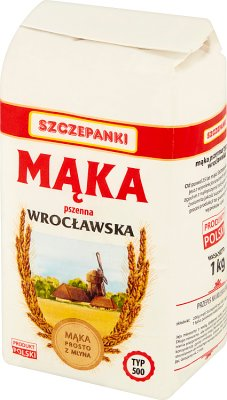 Szczepanki Mąka pszenna wrocławska typ 500