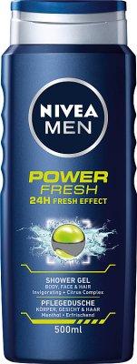 Nivea Men Żel pod prysznic  Power Fresh