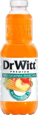 Dr Witt Premium Napój Błonnik Brzoskwinia-marchew