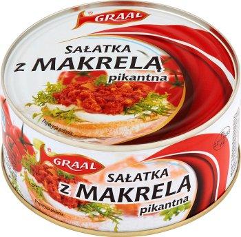 Graal Sałatka z makrelą pikantna