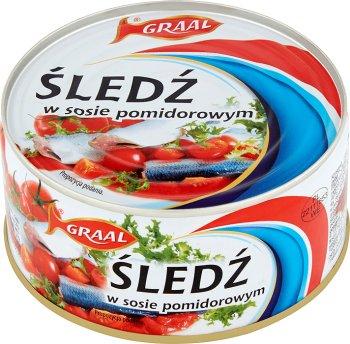 Graal Śledź w sosie pomidorowym