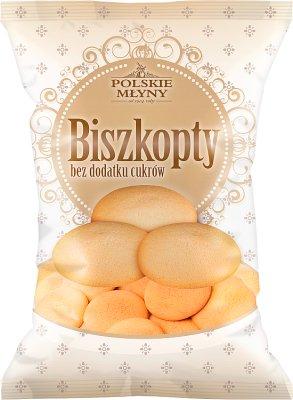 Polskie Młyny Biszkopty  bez dodatku cukrów