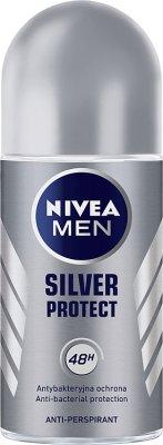 Nivea Men Antyperspirant roll on Silver Protect