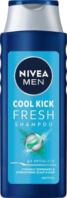 Nivea Men Cool Fresh Szampon pielęgnujący