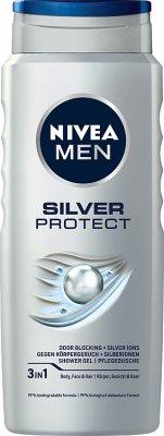 Nivea Men Silver Protect Żel pod prysznic