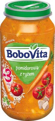 BoboVita Pomidorowa z ryżem