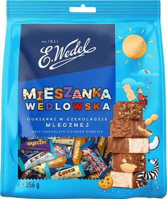 Wedel Mieszanka Wedlowska cukierki w czekoladzie mlecznej