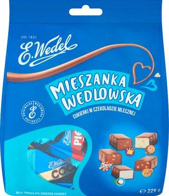 Wedel Blend Wedlowska конфеты в молочном шоколаде