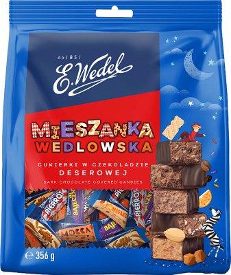 Ведель. Смешивание ведельских сладостей в десертном шоколаде