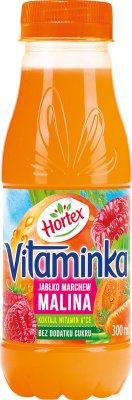 Hortex Vitaminka Sok Malina marchewka jabłko