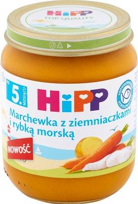 Hipp Marchewka z ziemniaczkami i rybą morską