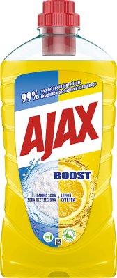 Ajax Płyn uniwersalny Boost Soda oczyszczona+Cytryna