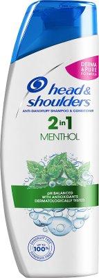 Head & Shoulders Szampon przeciwłupieżowy 2 w 1 Menthol