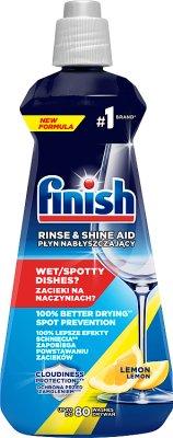 Finish Płyn nabłyszczający do zmywarek cytrynowy 5x Power Actions