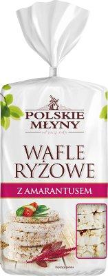 Polskie Młyny Wafle ryżowe z amarantusem