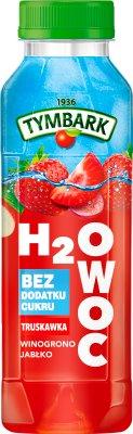 Tymbark H2Owoc Napój  truskawka winogrono jabłko