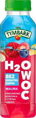 Tymbark H2Owoc Napój  malina winogrono jabłko