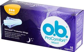O.B. ProComfort Night Normal Tampony