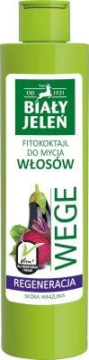 Biały Jeleń Wege Fitokoktajl do mycia włosów Regeneracja