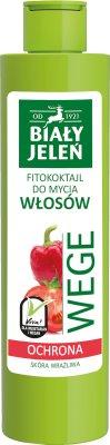 Biały Jeleń Wege Fitokoktajl do mycia włosów Ochrona