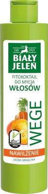 Biały Jeleń Wege Fitokoktajl do mycia włosów Nawilżenie