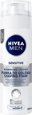 Nivea Men Sensitive Regenerująca pianka do golenia