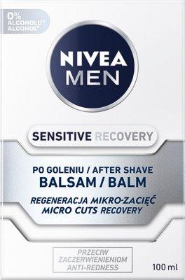 Nivea Men Sensitive Regenerujący balsam po goleniu