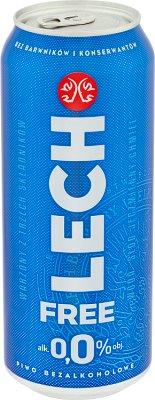 Lech Free Piwo bezalkoholowe 0.0%