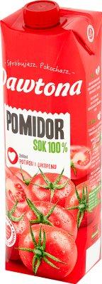Dawtona Pomidor sok 100%