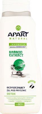 Apart Natural Oczyszczający żel pod prysznic Bamboo Extract