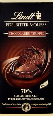 Lindt 70% Gorzka czekolada nadziewana musem i truflą