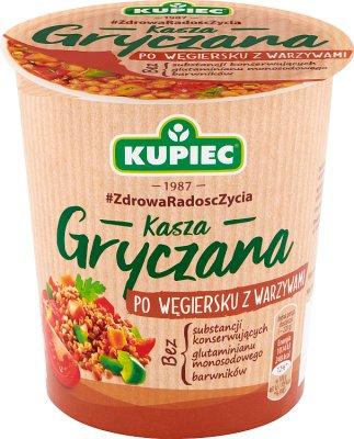 Kupiec Kasza gryczana po węgiersku  z warzywami danie instant