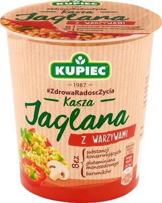 Kupiec Kasza jaglana z warzywami danie instant