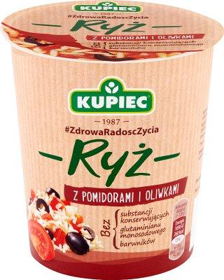 Kupiec Ryż z pomidorami i oliwkami  danie instant