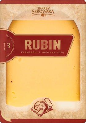 Rubin Skarby Serowara ser żółty długodojrzewający