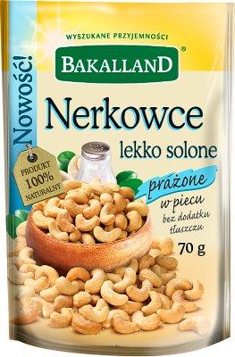 Bakalland Nerkowce lekko solone prażone